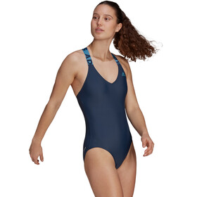 adidas SH3.RO Lineage Swimsuit Women, niebieski